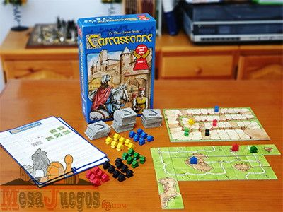 Carcassonne juego de mesa