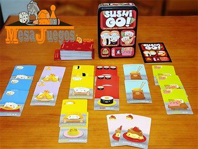 Sushi Go! Juego de mesa