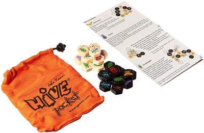 Hive Pocket juego de fichas