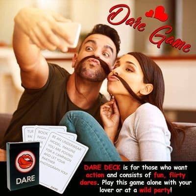 Talk Flirt Dare juego de mesa para parejas