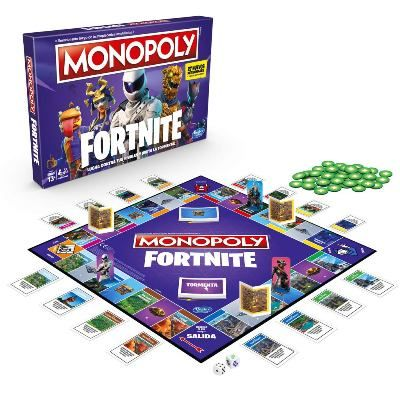 Monopoly Fornite Nerf