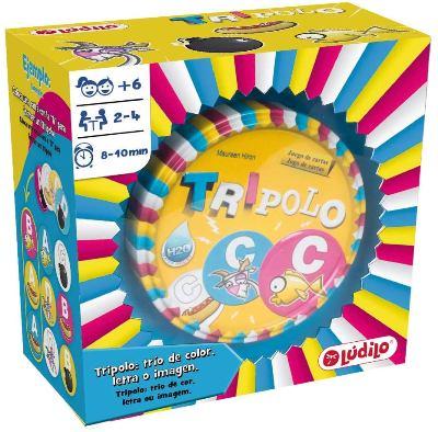 Juego de mesa para niños de 6 años Tripolo