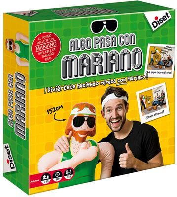 Algo pasa con Mariano juego