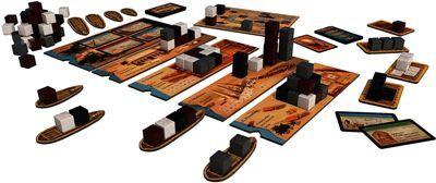 Juego de mesa Imhotep