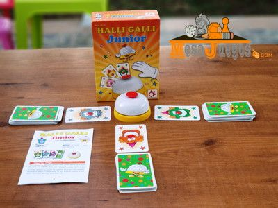 Juego Educativo Halli Galli Junior