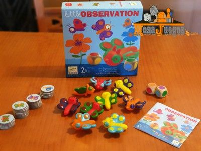 Juego educativo Little Observation