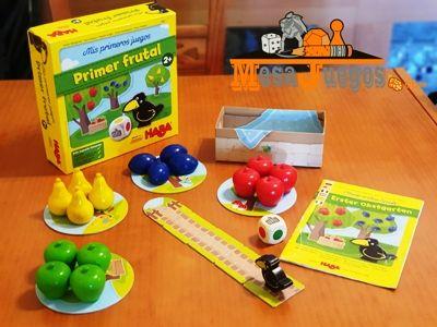 Juego educativo Primer Frutal