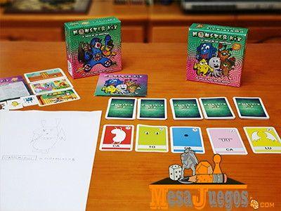 Monster kit juego de mesa
