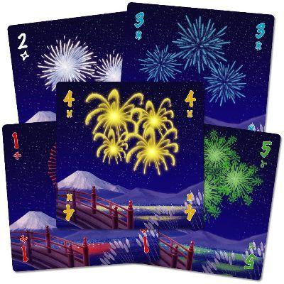 Hanabi juego de mesa cooperativo