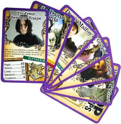 Juego de cartas Harry Potter