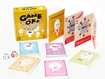 Game off juego de mesa de cartas