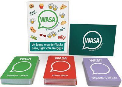 Juego de mesa y cartas wasa