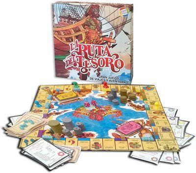 La ruta del tesoro juego de mesa de los 80