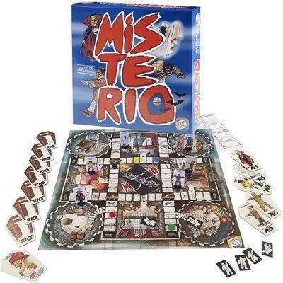 Misterio juego de mesa de los 80