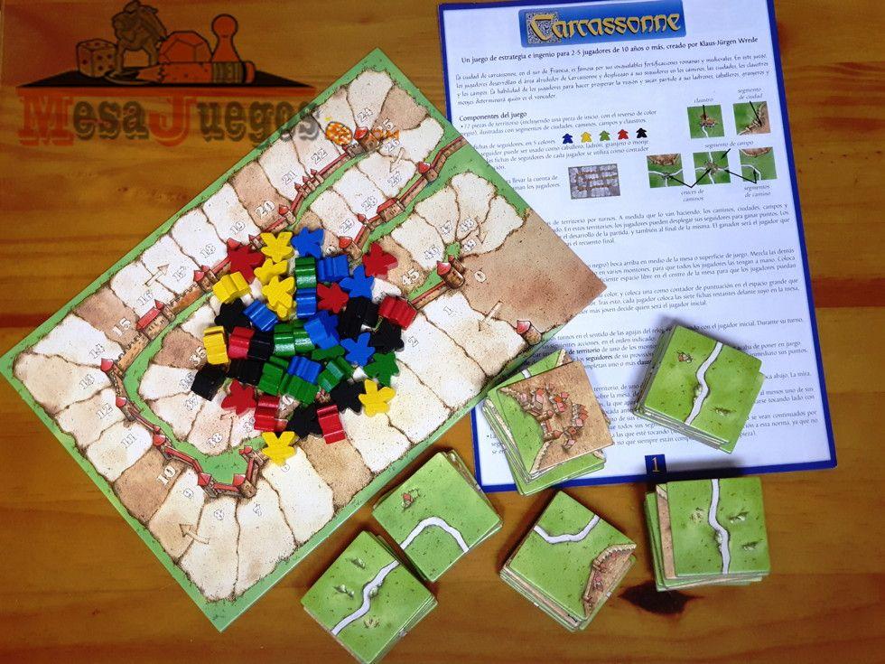Carcassonne contenido del juego