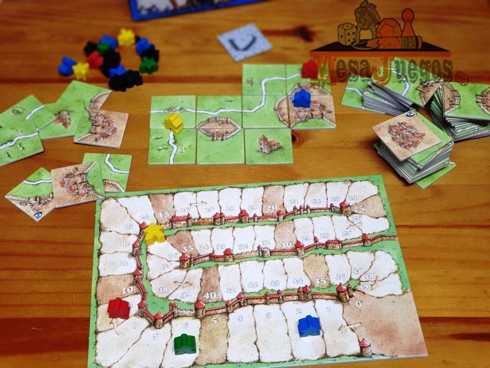 Carcassonne el juego de mesa