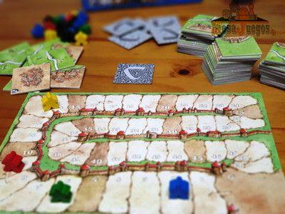 Carcassonne preparacion del juego