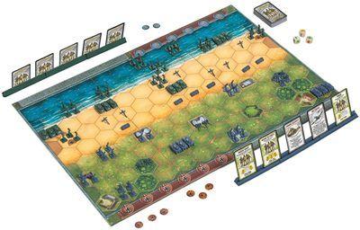Memoir44 juego de mesa de guerra