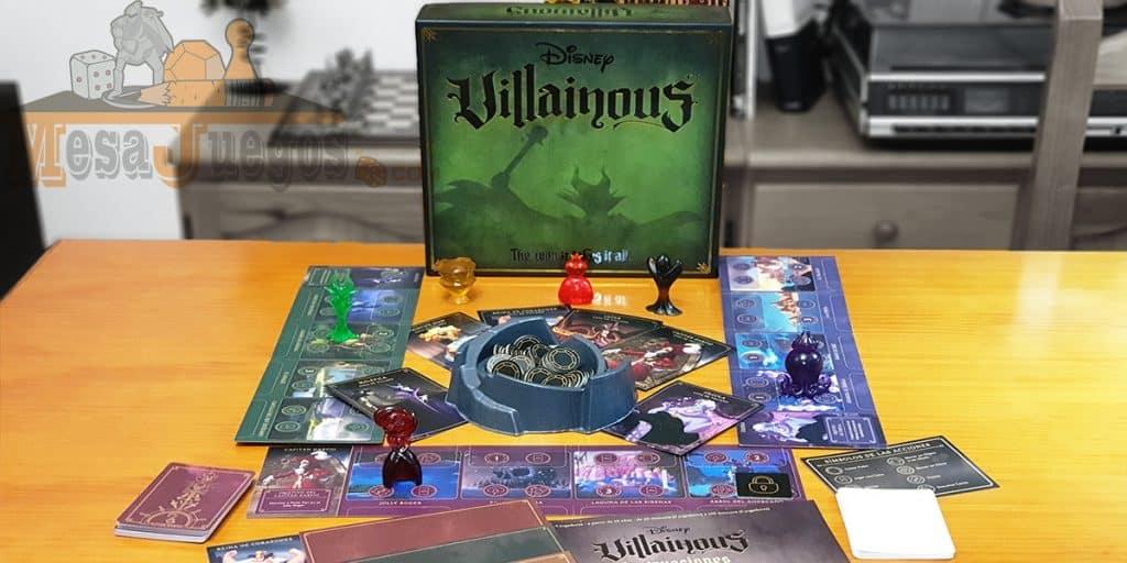 Juego de mesa Villainous Disney