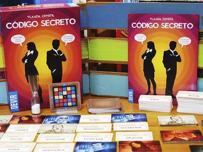 reseña del juego de mesa Código Secreto