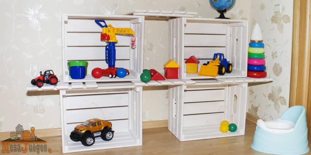 Ideas para guardar juguetes reciclando