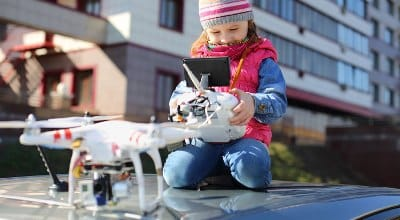El juguete más vendido: Los Drones